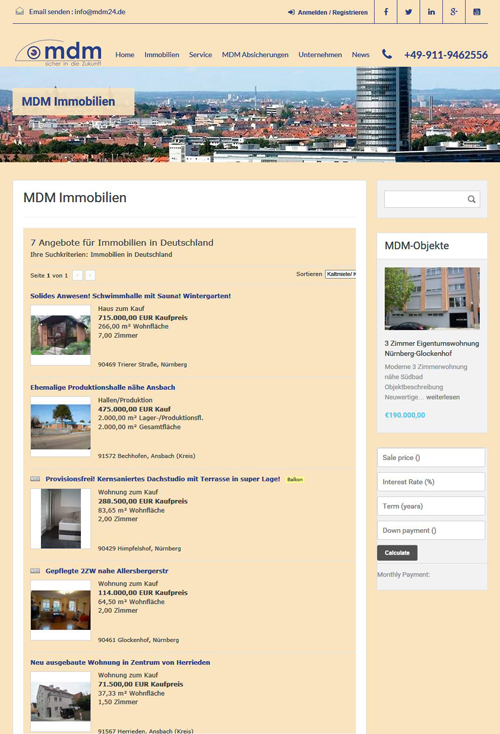 Immobilien Tool