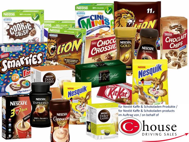 Distributionen für Nestlé Kaffee & Schokoladen®